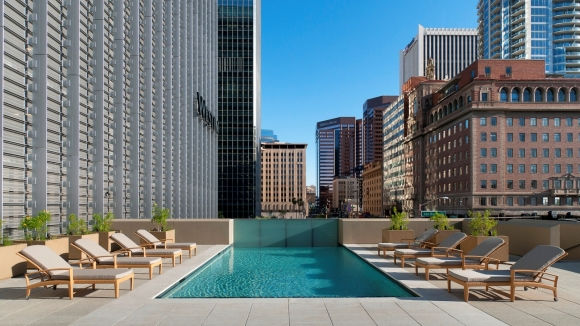 Terrace Pools best hotel pools in phoenix | westin phoenix downtown hotel